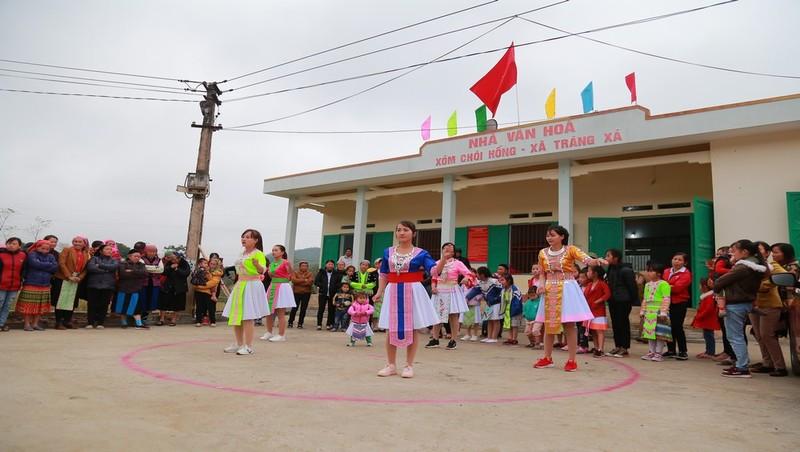 Ngày hội  giao lưu văn hóa dân tộc Mông ở Võ Nhai