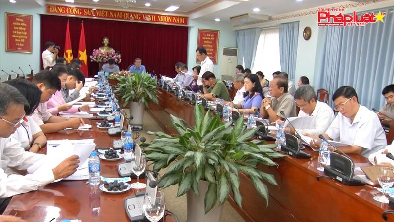 Bộ trưởng Bộ Tư pháp Lê Thành Long làm việc với Tỉnh uỷ, UBND tỉnh Đồng Nai