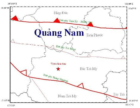 Quảng Nam: Tiếp tục xảy ra động đất, rung lắc ở Sông Tranh 2