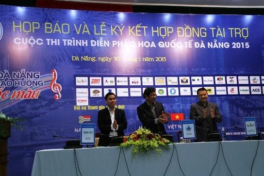 26 tỉ đồng tài trợ trình diễn pháo hoa quốc tế Đà Nẵng 2015