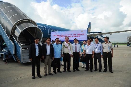 Sân bay Đà Nẵng hết công suất khi đón hành khách thứ 6 triệu