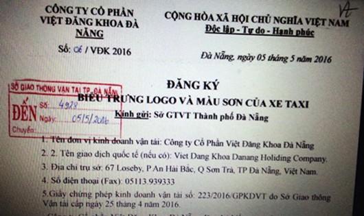 Kỷ luật cán bộ Sở GTVT Đà Nẵng 'vượt rào' cấp phép cho hãng taxi