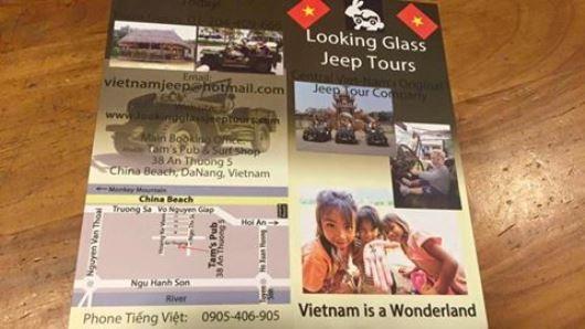 Tịch thu poster xuyên tạc biển Đà Nẵng thành biển Trung Quốc