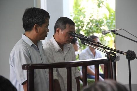 Cán bộ kiểm lâm Đà Nẵng hầu tòa ngày 30.8