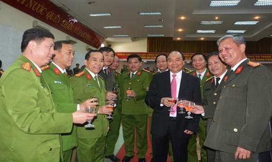 Thủ tướng Nguyễn Xuân Phúc thăm chúc Tết tại Đà Nẵng