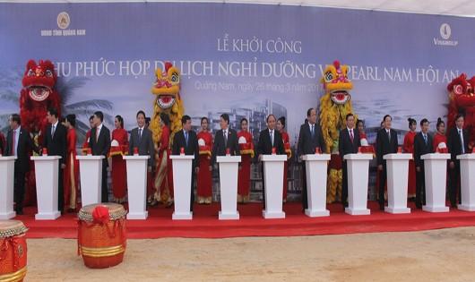 Vingroup khởi công Khu phức hợp Vinpearl Nam Hội An gần 5.000 tỷ đồng