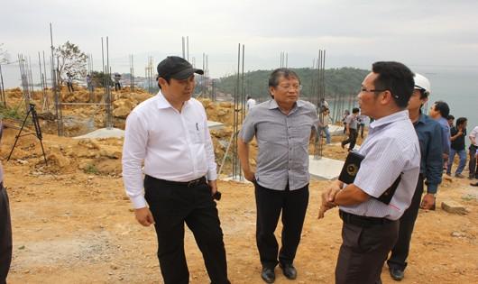 Công trình xây dựng trên bán đảo Sơn Trà được thành phố đi kiểm tra