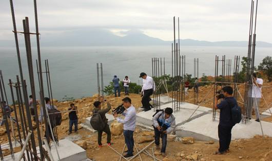 Lãnh đạo TP. Đà Nẵng kiểm tra thực tế dự án Tiên Sa tại Sơn Trà