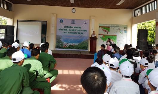 Ra quân hưởng ứng Ngày Đại dương Thế giới và Tuần lễ Biển và Hải đảo Việt Nam