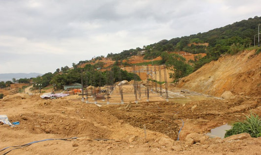Yêu cầu tháo dỡ 40 trụ móng tại dự án Tiên Sa trên bán đảo  Sơn Trà nằm trong kiến nghị