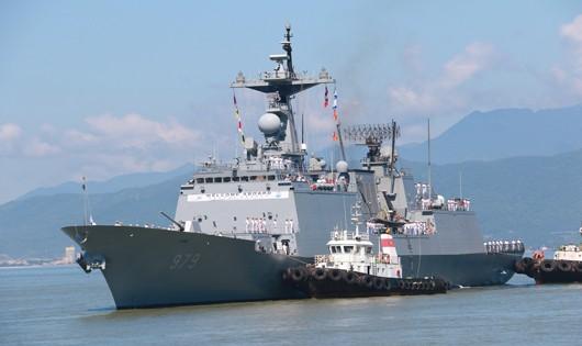 Chiến hạm của Hàn Quốc thăm Đà Nẵng