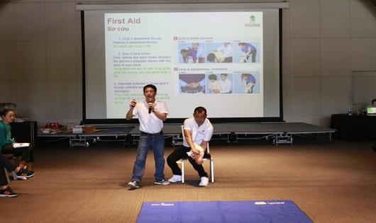 Đào tạo kỹ năng sơ, cấp cứu tại các khách sạn, resort phục vụ APEC