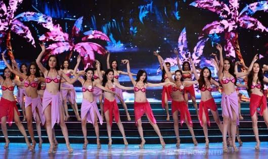 Một cuộc thi sắc đẹp tại Việt Nam (Ảnh minh họa từ internet)