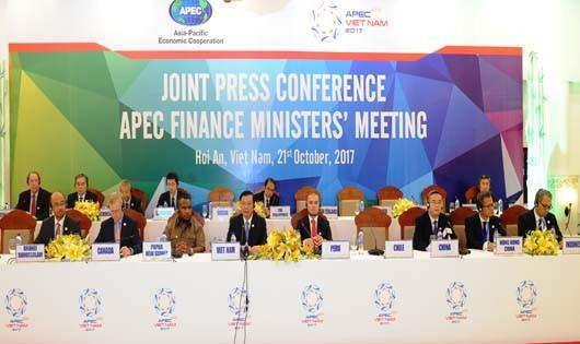 Họp báo kết thúc Hội nghị Bộ trưởng tài chính 2017 và thông qua Tuyên bố chung
