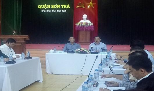 Họp khẩn của lãnh đạo thành phố Đà Nẵng
