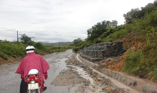 Nguy cơ sạt lở, lũ quét ở các huyện miền núi Quảng Nam