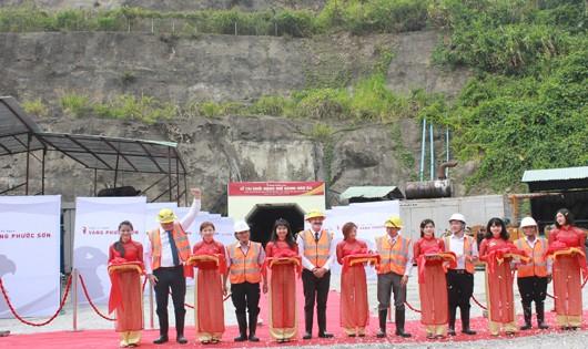 Lễ khởi công tái hoạt động mở vàng Đắk Sa