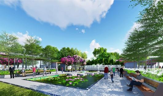 Phối cảnh Dự án Khu Đô thị Kim Long City Khu E