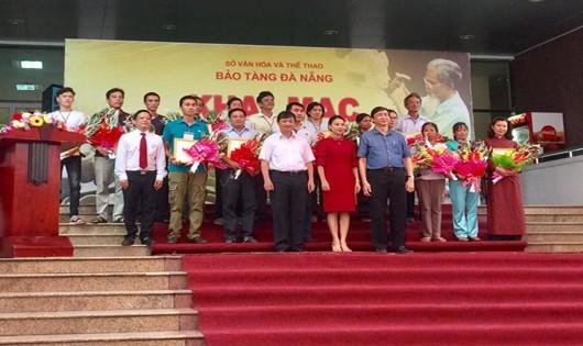 Trưởng ban Tuyên giáo Thành ủy Đặng Việt Dũng dự khai mạc Liên hoàn Làng nghề truyền thống xứ Quảng