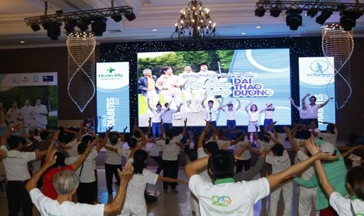 Chương trình Vui Sống Cùng Đái Tháo Đường do Bệnh viện Hoàn Mỹ Đà Nẵng tổ chức