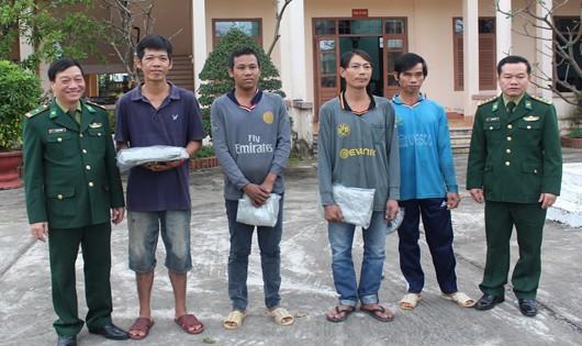 4 thuyền viên đã được giải cứu