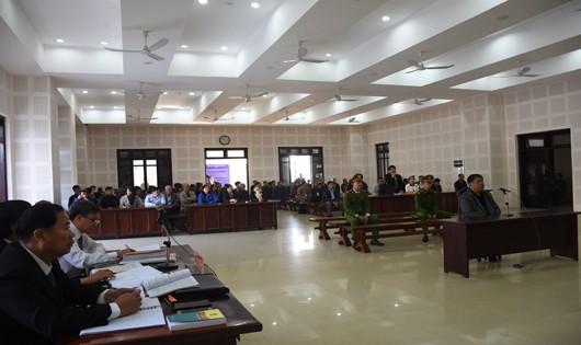 Phiên tòa xét xử ông Đào Tấn Cường