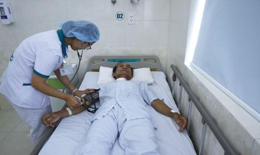 Bệnh nhân Huy được cứu sống hi hữu