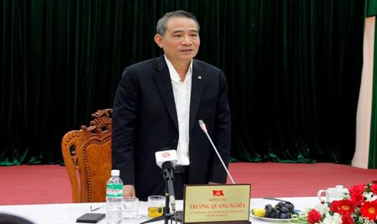 Ông Trương Quang Nghĩa làm việc với Sở Giao thông Vận tải Đà Nẵng