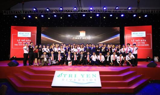 First Real Miền Nam và mở bán thành công khu đô thị Trị Yên RiverSide