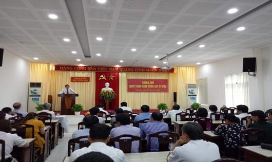 Lễ công bố, bổ nhiệm cán bộ chủ chốt Đà Nẵng