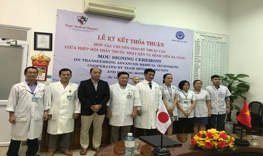 Lễ Ký kết Biên bản ghi nhớ cấy ghép nội tạng giữa BV Đà Nẵng và Hội Y bác sĩ Việt Nhật