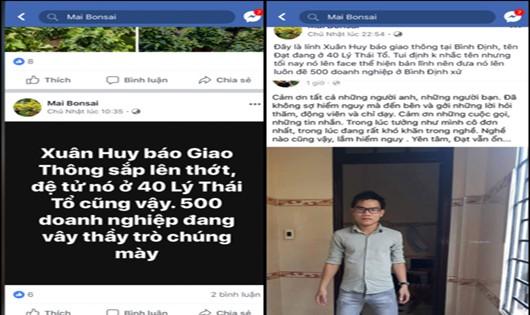 Điều tra xe quá tải Bình Định, PV Báo Giao thông bị đe dọa