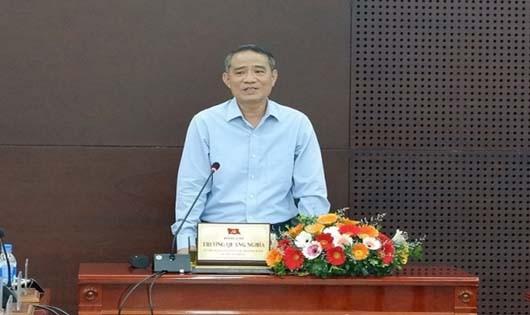 Ông Trương Quang Nghĩa làm việc với Sở Công thương TP. Đà Nẵng