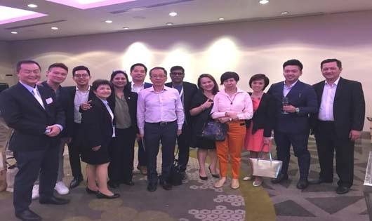 Cung hội nghị Quốc tế Ariyana tham gia sự kiện giới thiệu sản phẩm du lịch liên kết vùng với lữ hành Singapore