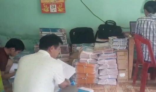 Vụ trộm dữ liệu sổ đỏ xảy ra tại Đội đo đạc số 8 ở Quảng Nam