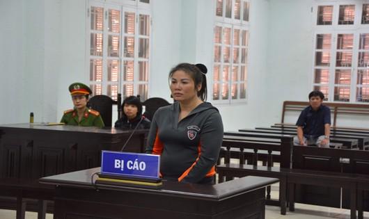 Bị cáo Nga Vọc- Nguyễn Thị Hà