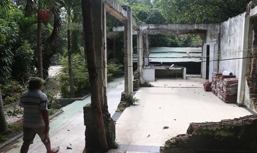 Hình ảnh thực tế trên núi Hải Vân những ngày qua lại gây xôn xao dư luận Đà Nẵng.
