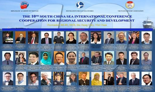 Các học giả quốc tế tham dự Hội thảo