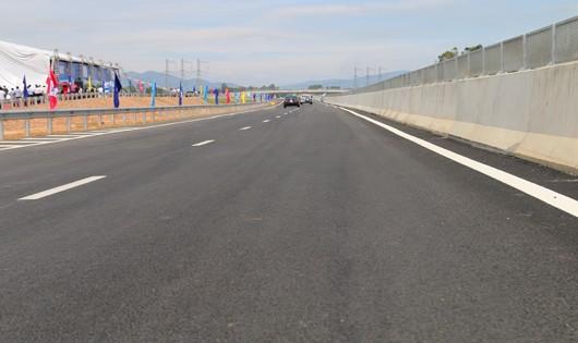 Dự án cao tốc Đà Nẵng- Quảng Ngãi thời điểm thông xe