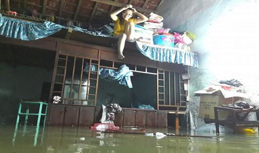 Ngập lụt tại Quảng Nam
