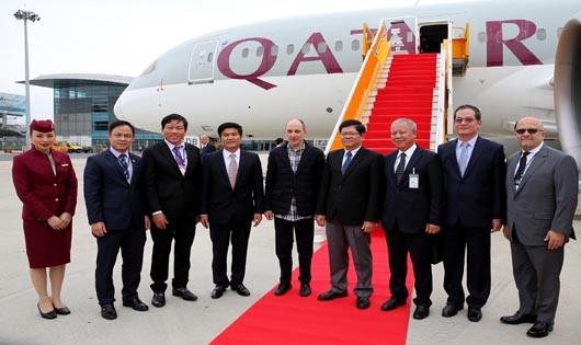 Qatar Airways mở 4 chuyến bay/ tuần đến Đà Nẵng