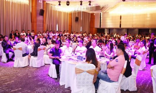 Các khách hàng tham dự và ghi nhận 95% sản phẩm đã được thanh khoản thành công