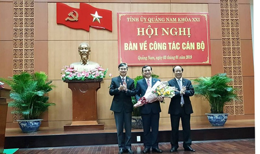 Ông Phan Việt Cường được bầu giữ chức Bí thư Tỉnh ủy Quảng Nam