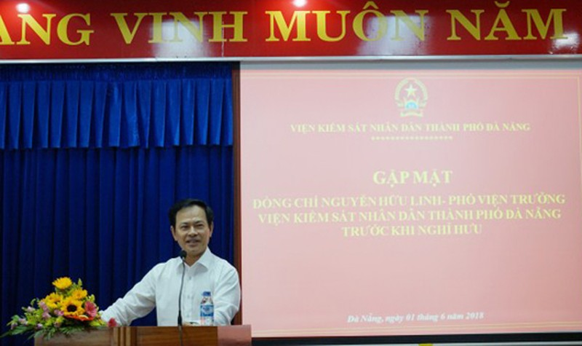 Chân dụng nguyên Viện Phó VKSND TP. Đà Nẵng