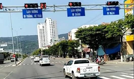Đoàn xe vượt đèn đỏ tại Đà Nẵng được xác định của Tập đoàn Trung Nguyên