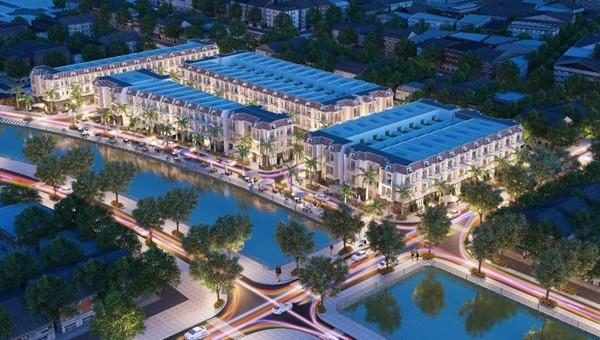 Phối cảnh Dự án Khu dân cư Phùng Hưng
