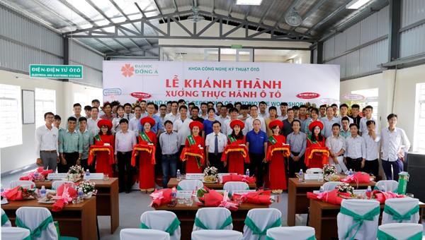 Khánh thành xưởng thực hành ô tô của trường Đại học Đông Á