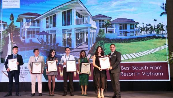 Premie Village được vinh danh khu nghỉ dưỡng bãi biển tốt nhất Việt Nam 2019