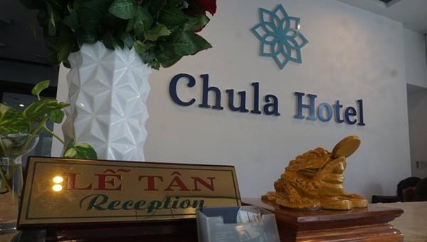 Khách sạn Chula nơi nhóm người Trung Quốc thuê để thực hiện hành vi phạm tội