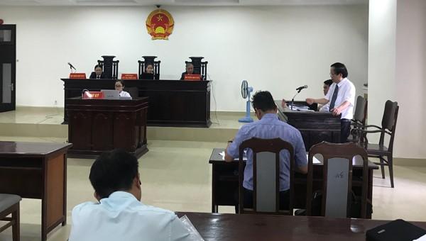 Phiên tòa sơ thẩm hành chính giữa Vipico và UBND TP. Đà Nẵng ngày 25/9